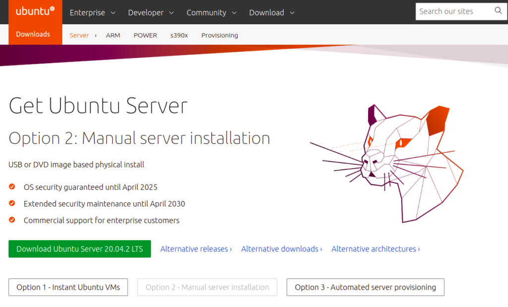 ubuntu website download picture
