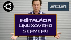 Inštalácia Ubuntu serveru