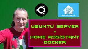 Home Assistant ako docker