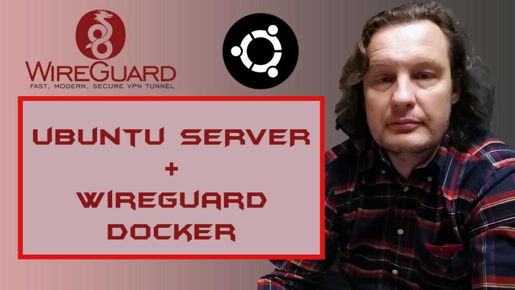 WIREGUARD server ako docker